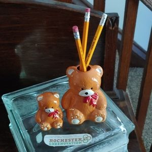 Vintage House of Lloyd Teddy Bear Pencil Set